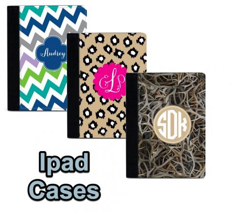 Monogrammed Ipad Folio Case 50 Patterns  Electronics > Computers > Computer Accessories > Laptop Accessories
