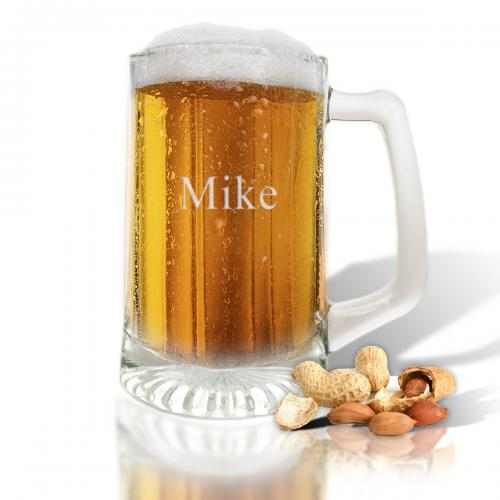 Personalized Glass Sports Mug  Home & Garden > Kitchen & Dining > Barware