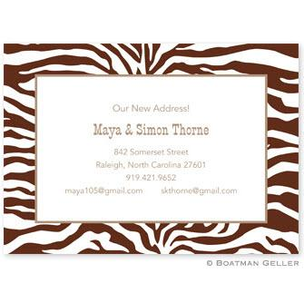 Boatman Geller Personalized Zebra Invitation  Office Supplies > General Supplies > Paper Products > Stationery