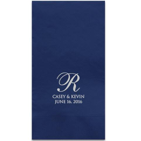 Serenity Foil-Stamped Guest Towels  Home & Garden