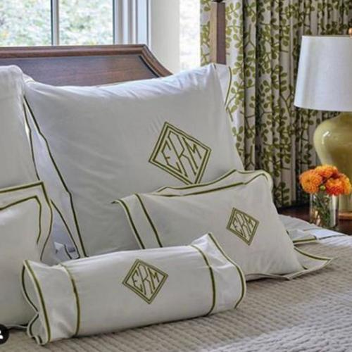 Matouk Ansonia Monogrammed Bedding Collection   Matouk Ansonia Monogrammed Bedding Collection  Home & Garden > Linens & Bedding > Bedding