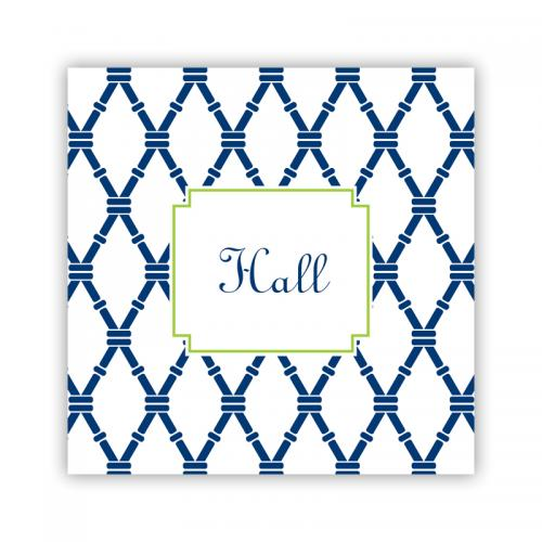 Personalized Coasters Bamboo Navy & Green   Home & Garden > Kitchen & Dining > Barware > Coasters