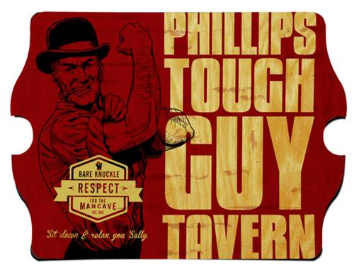Personalized Sign Tough Guy Vintage Tavern  Personalized Sign Tough Guy Vintage Tavern Home & Garden > Decor > Novelty Signs