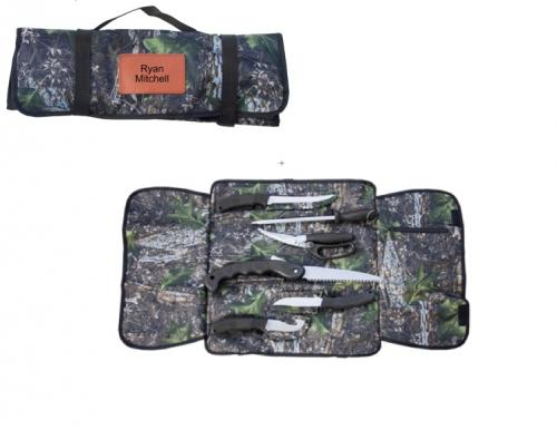 Personalized Hunting Soft Roll Game Kit  Sporting Goods > Outdoor Recreation > Camping, Backpacking & Hiking > Camping Tools > Multifunction Tools & Knives