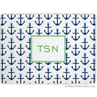 Anchors Navy Glass Cutting Board  Home & Garden > Kitchen & Dining > Kitchen Tools & Utensils > Cutting Boards