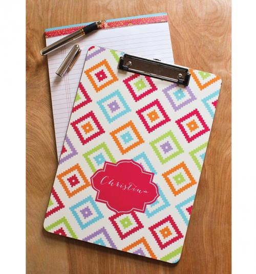 Monogrammed Clip Board Printed on Both Sides  Office Supplies > Office Instruments > Clipboards