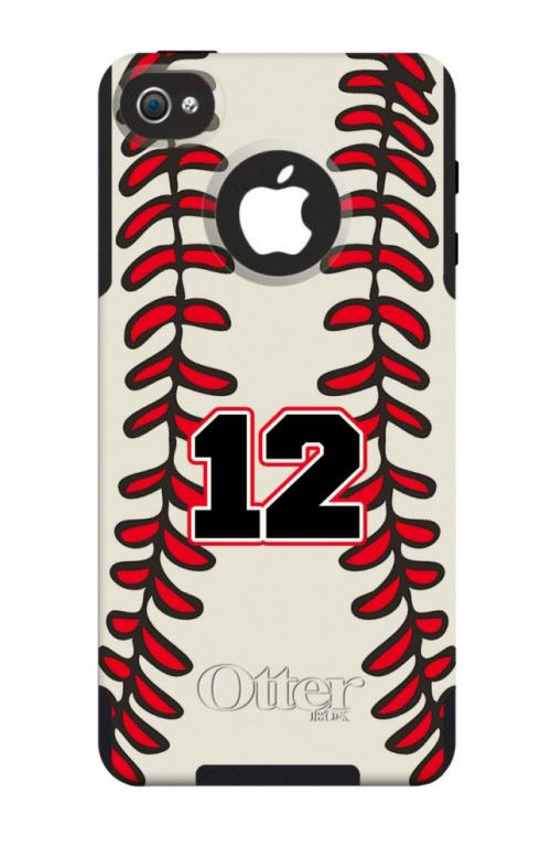 Customized Baseball OtterBox Case For IPhone And Galaxy At ...