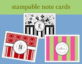 Stampable Note cards From PSA Essentials  Office Supplies > General Supplies > Paper Products > Stationery