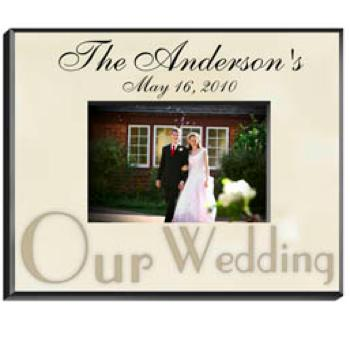 Personalized Wedding Photo Frame  Personalized Wedding Photo Frame  Home & Garden > Decor > Picture Frames