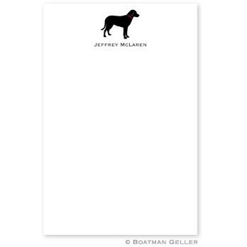 Boatman Geller Personalized Notepad in Fetch Design  Office Supplies > General Supplies > Paper Products > Notebooks & Notepads