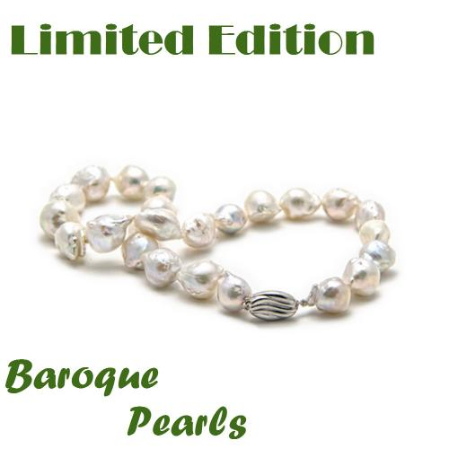 Baroque Pearl Necklace - Limited Edition! Baroque Pearl Necklace Apparel & Accessories > Jewelry > Necklaces