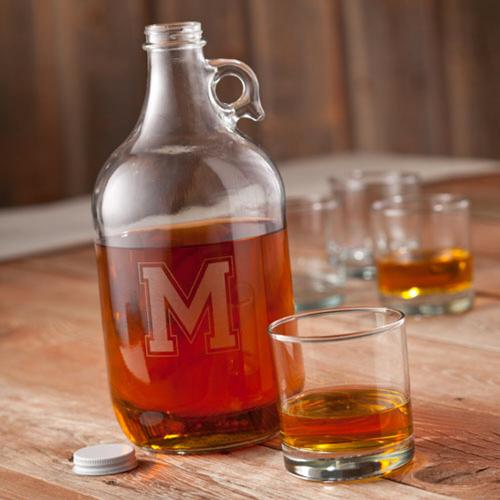 Personalized Whiskey Growler  Home & Garden > Kitchen & Dining > Barware > Decanters