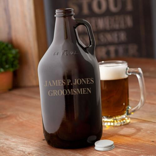 Personalized Amber Growler Personalized Amber Growler Home & Garden > Kitchen & Dining > Barware > Decanters