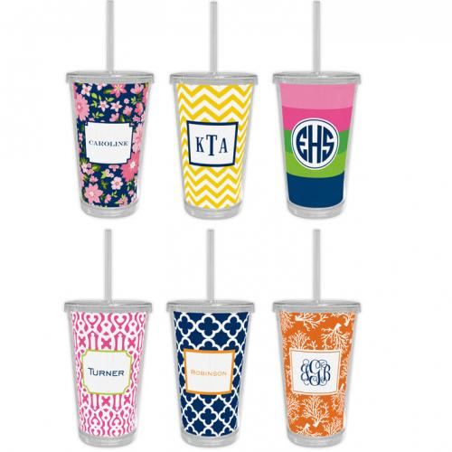 Boatman Geller Personalized  Tumblers  Home & Garden > Kitchen & Dining > Tableware > Drinkware > Tumblers