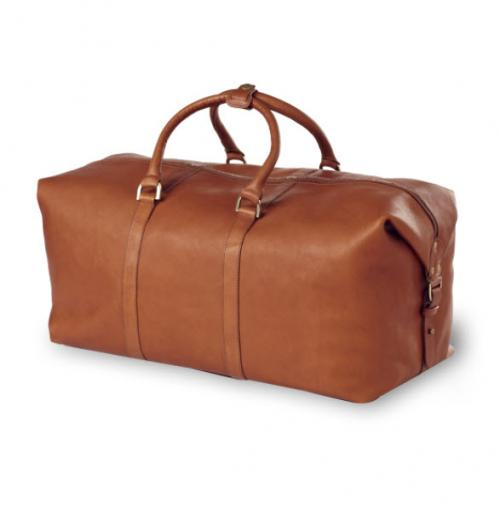 Personalized All Leather Cabin Duffel Tan, Black, or Cafe  Luggage & Bags > Duffel Bags