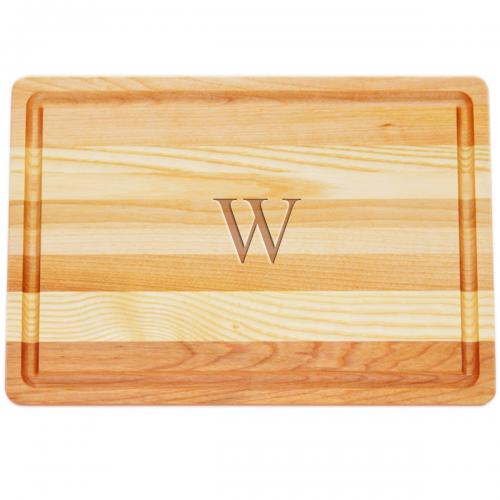 Personalized Wooden Cutting Board Medium   Home & Garden > Kitchen & Dining > Tableware > Serveware > Serving Trays