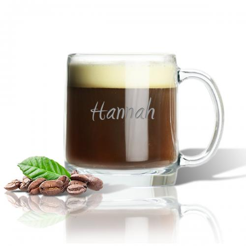 Personalized Large Glass Mug  Home & Garden > Kitchen & Dining > Tableware > Drinkware > Mugs