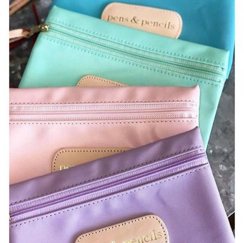 Jon Hart Designs Monogrammed Pouch  Luggage & Bags > Luggage Accessories > Travel Pouches