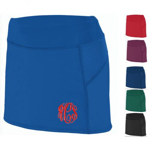 Monogrammed Laides Fitted Tennis Skirt  Apparel & Accessories > Clothing > Activewear > Active Skirts