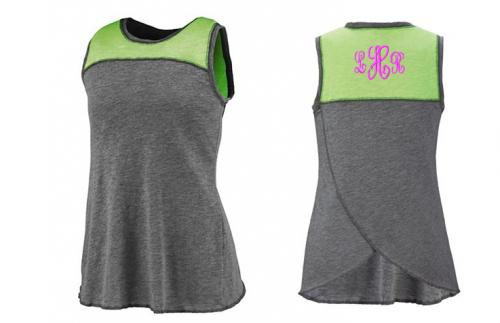 Monogrammed Ladies Cherished Tank   Apparel & Accessories > Clothing > Activewear > Active Tanks