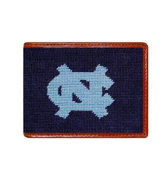Smathers and Branson UNC Needlepoint Bifold Wallet  Apparel & Accessories > Clothing Accessories > Wallets & Money Clips