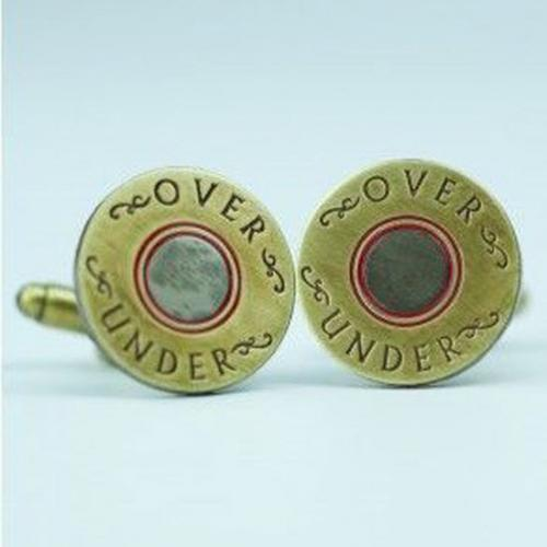 Over Under Shotgun Shell Men's Cufflinks Over Under Shotgun Shell Men's Cufflinks Apparel & Accessories > Jewelry > Cufflinks