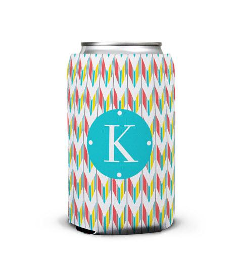 Personalized Can Koozie In Arrowhead Print  Home & Garden > Kitchen & Dining > Food & Beverage Carriers > Drink Sleeves > Can & Bottle Sleeves