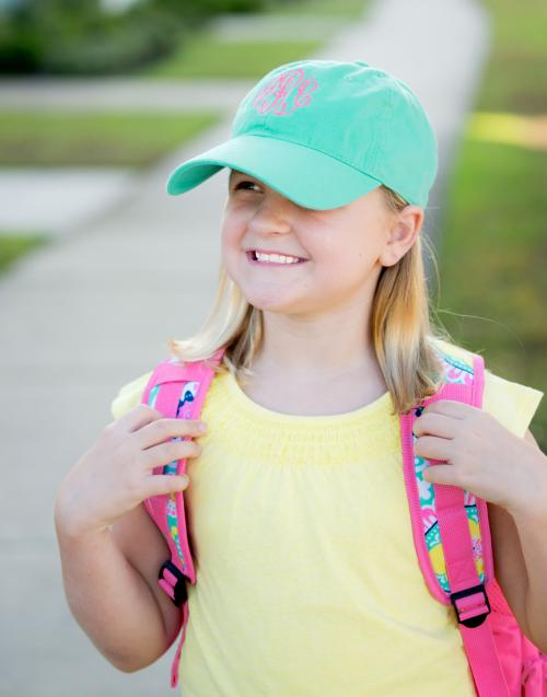 Personalized Child's Mint Green Ball Cap  Apparel & Accessories > Clothing Accessories > Baby & Toddler Clothing Accessories > Baby & Toddler Hats