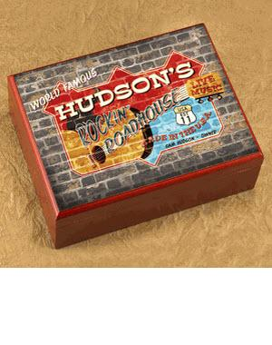 Personalized Roadhouse Cigar Humidor  Personalized Cigar Humidor Roadhouse   Arts & Entertainment > Party & Celebration > Gift Giving