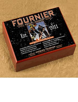Personalized Cigar Humidor Hockey Academy  Personalized Cigar Humidor Hockey Academy  Arts & Entertainment > Party & Celebration > Gift Giving