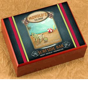 Personalized Cigar Humidor Surfside  Personalized Cigar Humidor Surfside  Home & Garden > Smoking Accessories