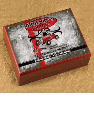 Personalized Garage Cigar Humidor  Personalized Cigar Humidor Garage  Arts & Entertainment > Party & Celebration > Gift Giving