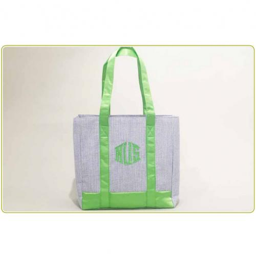 Monogrammed Daily Tote By Talley Ho Designs  Apparel & Accessories > Handbags > Tote Handbags