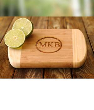 Monogrammed Bar Board Bamboo   Personalized Bar Board Bamboo  Home & Garden > Kitchen & Dining > Kitchen Tools & Utensils > Cutting Boards