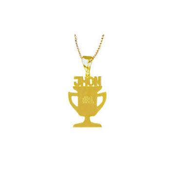 Personalized Trophy For All Necklace   Apparel & Accessories > Jewelry > Necklaces