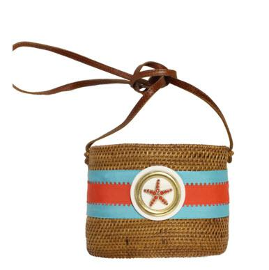 SOB Bag with Starfish  SOB Bag with Starfish Apparel & Accessories > Handbags > Shoulder Bags
