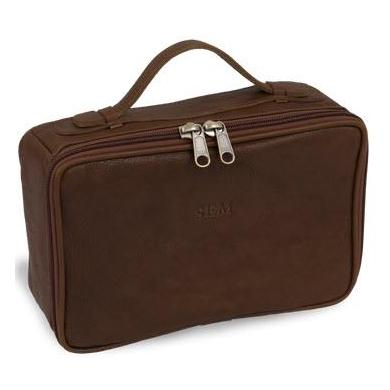 Jon Hart Designs Personalized Men's Leather Dopp Kit   Luggage & Bags > Toiletry Bags