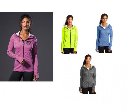 Monogrammed Ladies Full Zip Endurance Jacket   Apparel & Accessories > Clothing > Activewear > Active Jackets