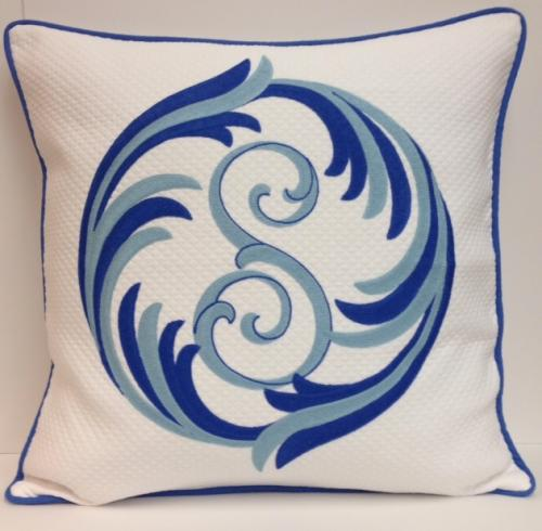 Personalized Single Letter PIllow from Jane Wlner Designs  Home & Garden > Decor > Throw Pillows