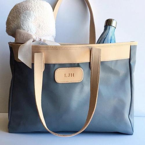 Jon Hart Monogrammed Bebita Diaper Bag   Apparel & Accessories > Handbags