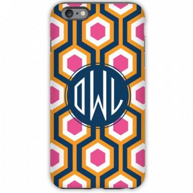 Monogrammed iPhone Case London Calling  Electronics > Communications > Telephony > Mobile Phone Accessories > Mobile Phone Cases