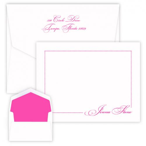 Personalized Manhattan Raised Ink Correspondence Card  Office Supplies > General Supplies > Paper Products > Stationery