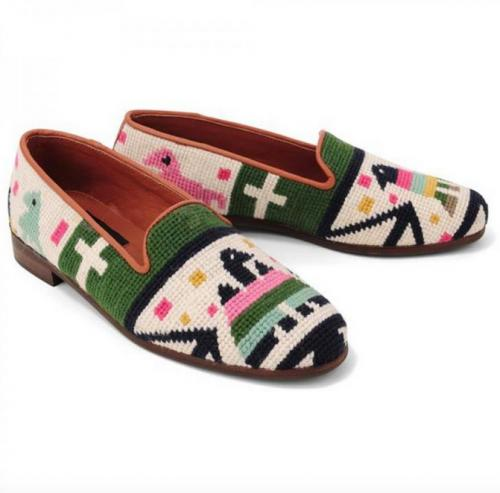By Paige Needlepoint Loafers By Paige Needlepoint Loafers NULL