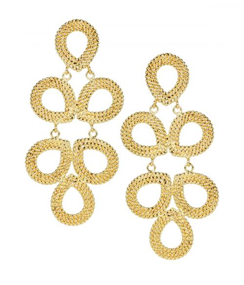 Lisi Lerch Ginger Earrings Gold or Silver as Seen on Southern Charm  Apparel & Accessories > Jewelry > Earrings