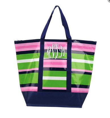 Monogrammed Recycled Tote Bags Gallery_144 NULL
