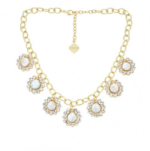 Marina Statement Necklace Marina Statement Necklace Apparel & Accessories > Jewelry > Necklaces