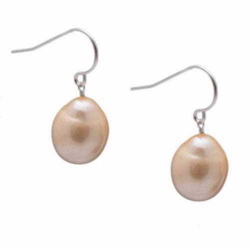 Champagne Pearl Drop Earrings Champagne Pearl Drop Earrings Apparel & Accessories > Jewelry > Precious Stones