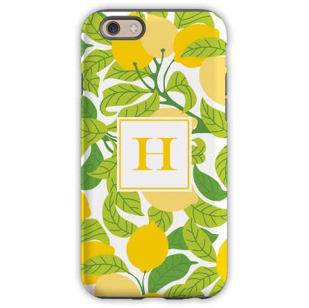 Personalized iPhone Case Lemons  Electronics > Communications > Telephony > Mobile Phone Accessories > Mobile Phone Cases