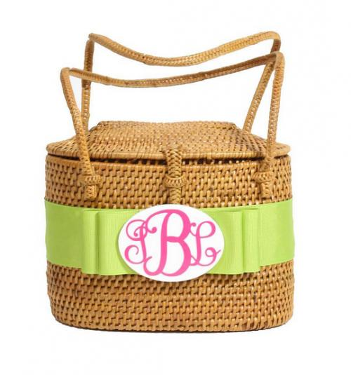 Monogrammed High Baby Bali Bag  Apparel & Accessories > Handbags > Shoulder Bags