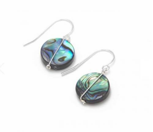 Abalone Color My World Earrings Abalone Color My World Earrings Apparel & Accessories > Jewelry > Precious Stones